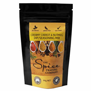 Creamy Carrot & Nutmeg Dip/Seasoning Mix 44g